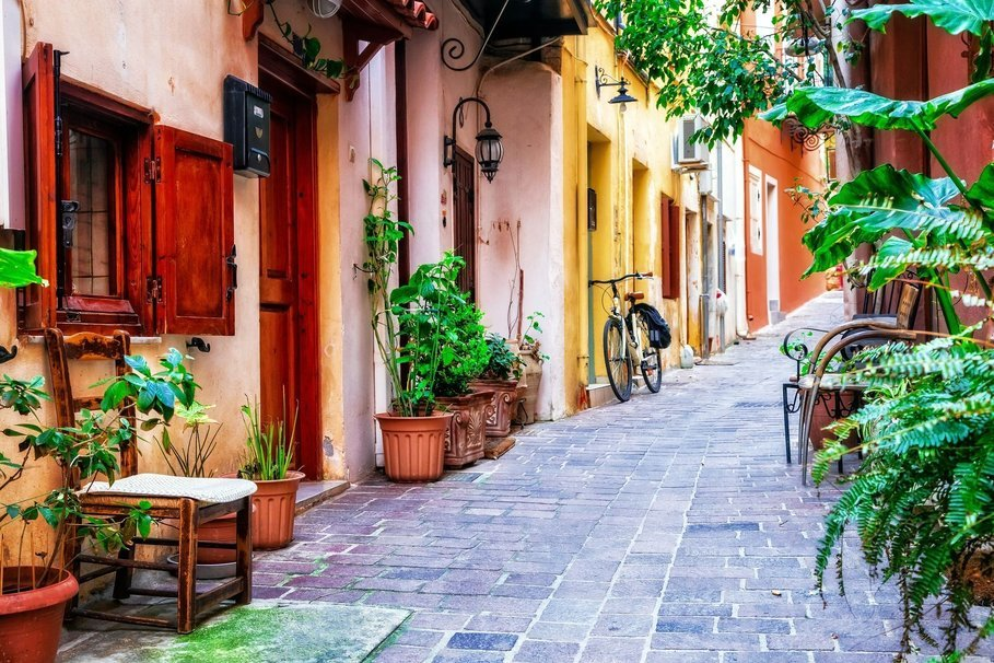 rethymnon old town walking tour